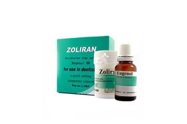 زولیران (پودر زینک + اوژنول)